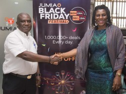 Dangote Cement Plc and the leading e-commerce platform, Jumia at the weekend signed a deal making th